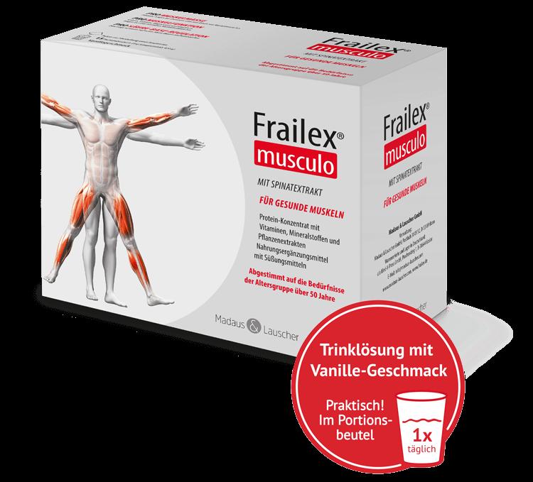 Frailex-Musculo-Packung